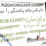 Brandenburg and Berlin's Flüchtlinge sind im Streik!