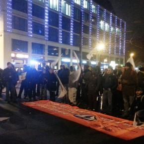 Two thousands demonstrate in Berlin against the eviction of the protest camp in Oranienplatz /// Zweitausend demonstrieren in Berlin gegen die Räumung des Protestcamps am Oranienplatz