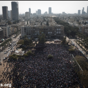 20,000 Refugees demonstrate in Tel-Aviv /// 20,000 Flüchtlinge demonstrieren in Tel-Aviv